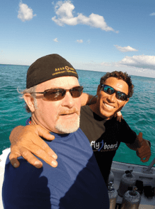 Owner Jeff Powelson tropical diving