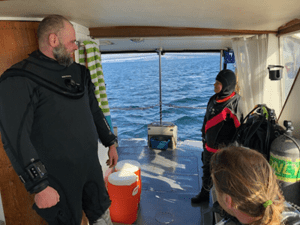 Austin Craig leads liveaboard dive trips to the Channel Islands