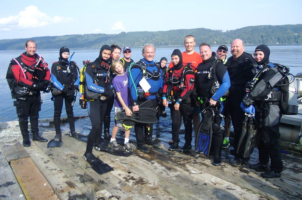 Diving the Puget Sound