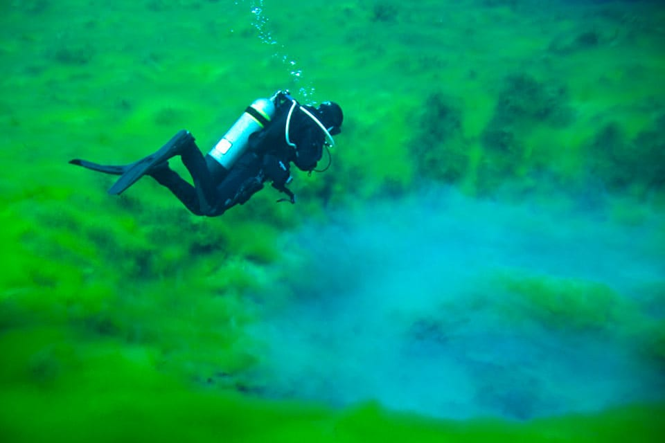 Diving the Clear Lake Abyss