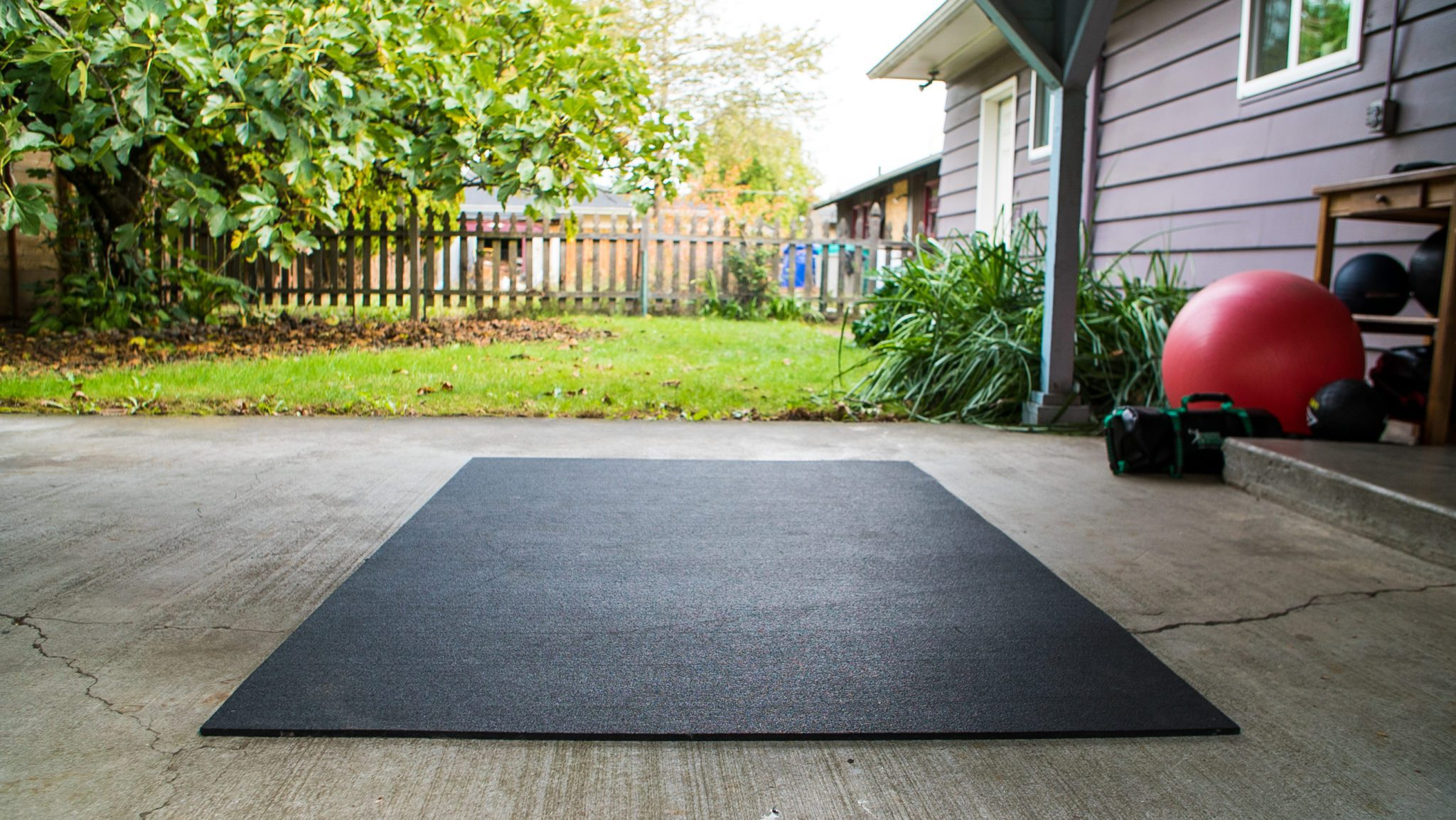 My home, outdoor movement space.