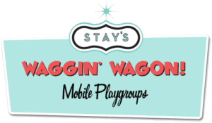 Waggin' Wagon mobile playgroups logo
